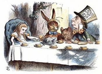 John Tenniel- Alice's mad tea party, colour2.jpg